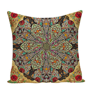 Colorful Mandala Pillow Covers - L584 / L584-8 - Starsystems