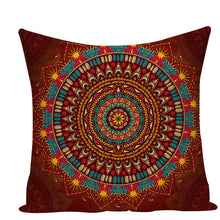 Load image into Gallery viewer, Colorful Mandala Pillow Covers - L584 / L584-25 - Starsystems