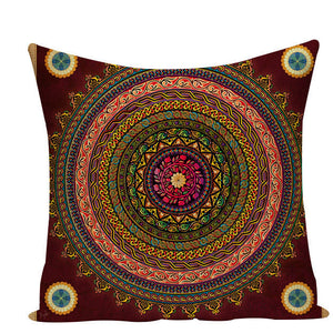 Colorful Mandala Pillow Covers - L584 / L584-6 - Starsystems