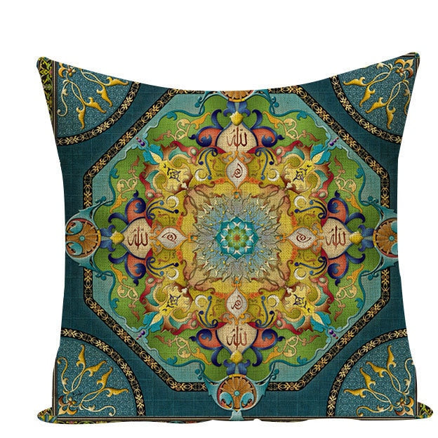 Colorful Mandala Pillow Covers - L584 / L584-1 - Starsystems