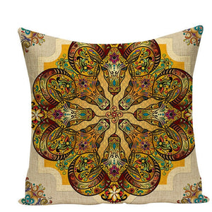 Colorful Mandala Pillow Covers - L584 / L584-10 - Starsystems