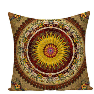Colorful Mandala Pillow Covers - L584 / L584-11 - Starsystems