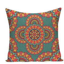 Load image into Gallery viewer, Colorful Mandala Pillow Covers - L584 / L584-24 - Starsystems