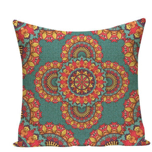Colorful Mandala Pillow Covers - L584 / L584-24 - Starsystems