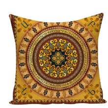 Load image into Gallery viewer, Colorful Mandala Pillow Covers - L584 / L584-14 - Starsystems