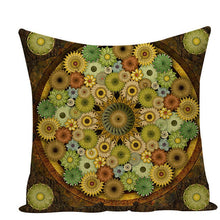 Load image into Gallery viewer, Colorful Mandala Pillow Covers - L584 / L584-21 - Starsystems