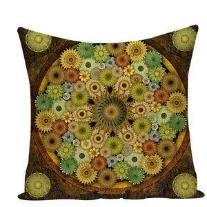 Colorful Mandala Pillow Covers - L584 / L584-21 - Starsystems
