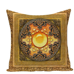 Colorful Mandala Pillow Covers - L584 / L584-20 - Starsystems