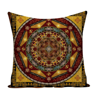 Colorful Mandala Pillow Covers - L584 / L584-5 - Starsystems