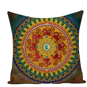 Colorful Mandala Pillow Covers - L584 / L584-4 - Starsystems