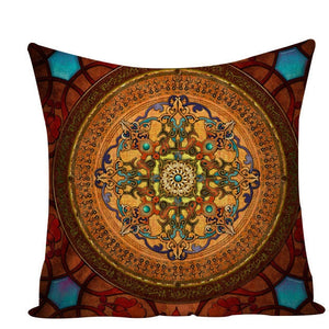 Colorful Mandala Pillow Covers - L584 / L584-2 - Starsystems