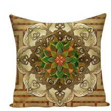 Load image into Gallery viewer, Colorful Mandala Pillow Covers - L584 / L584-19 - Starsystems