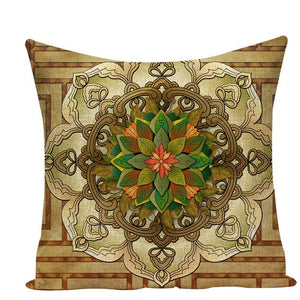 Colorful Mandala Pillow Covers - L584 / L584-19 - Starsystems