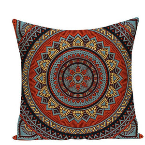 Colorful Mandala Pillow Covers - L584 / L584-22 - Starsystems