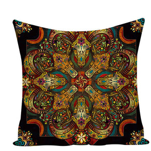 Colorful Mandala Pillow Covers - L584 / L584-7 - Starsystems