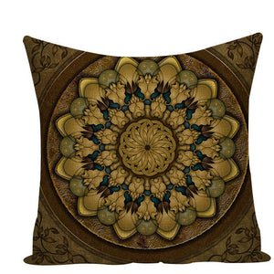 Colorful Mandala Pillow Covers - L584 / L584-15 - Starsystems
