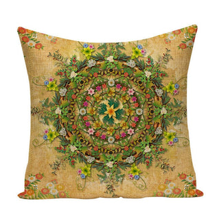 Colorful Mandala Pillow Covers - L584 / L584-12 - Starsystems