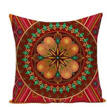 Load image into Gallery viewer, Colorful Mandala Pillow Covers - L584 / L584-16 - Starsystems