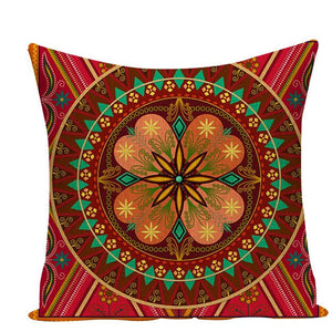 Colorful Mandala Pillow Covers - L584 / L584-16 - Starsystems