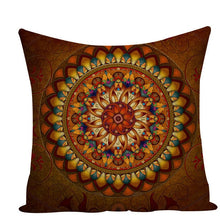 Load image into Gallery viewer, Colorful Mandala Pillow Covers - L584 / L584-9 - Starsystems