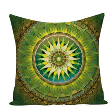Load image into Gallery viewer, Colorful Mandala Pillow Covers - L584 / L584-18 - Starsystems