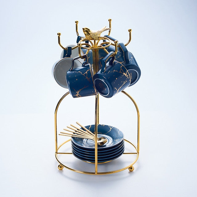 Universe Gold Cracks - Blue - 6 cups birdcage - Starsystems
