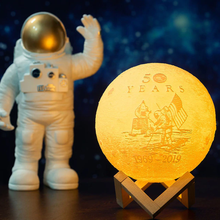 Load image into Gallery viewer, Custom Moon Lamp - - Starsystems
