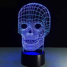 Load image into Gallery viewer, Skull Illusion Lamp - - Starsystems