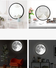 Load image into Gallery viewer, 2 in 1 Moon Lamp/ Mirror - A: 24 x 24 cm - Starsystems