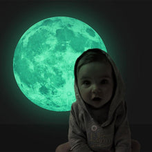 Load image into Gallery viewer, Moon Glow Sticker - - Starsystems