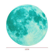 Load image into Gallery viewer, Moon Glow Sticker - diameter 12cm - Starsystems