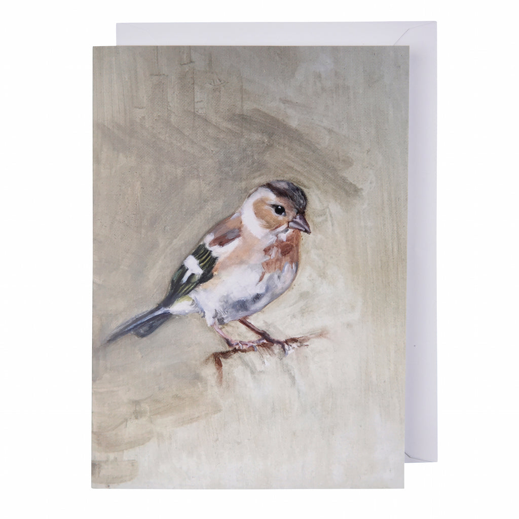 Greeting card: Chaffinch