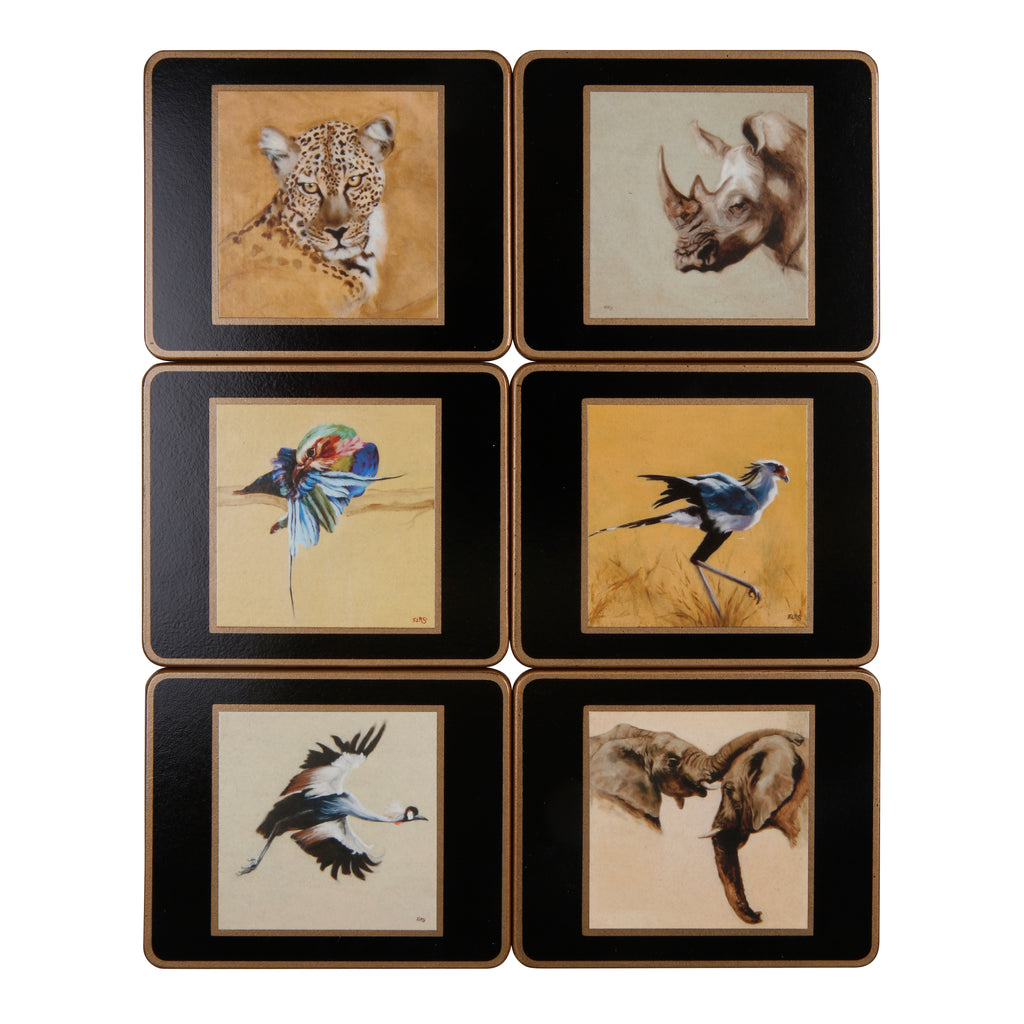 Set of 6 coasters (Set 1)