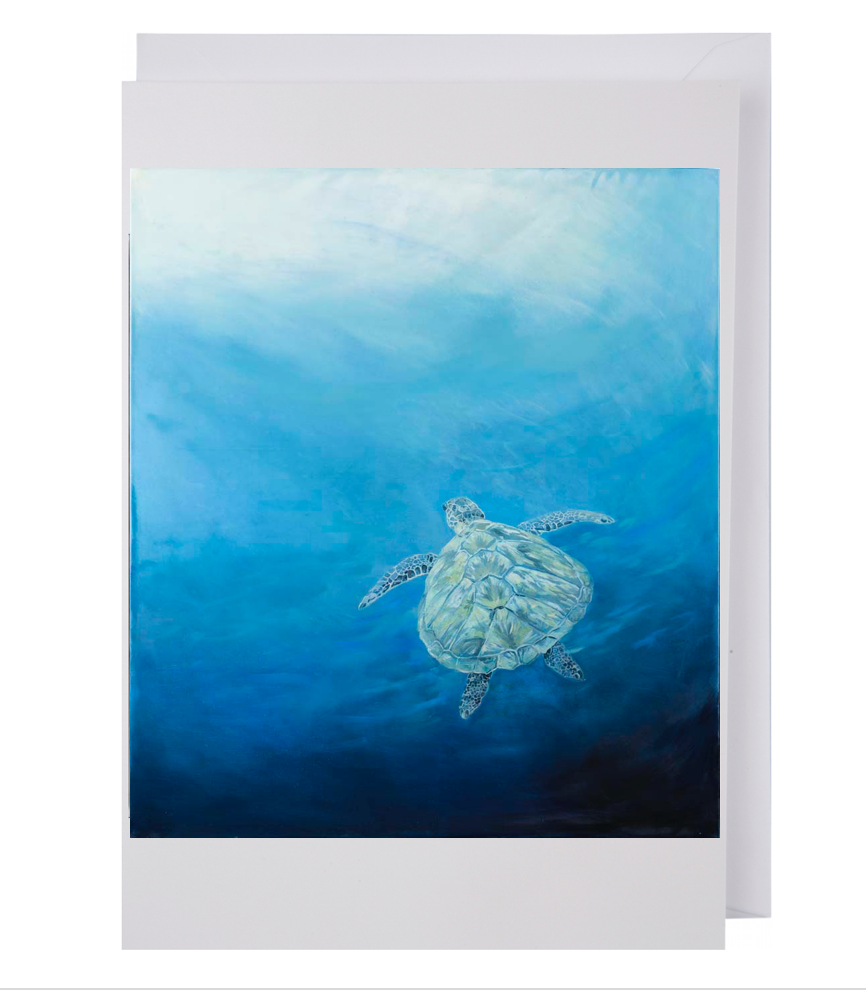 Greeting card: Sea Turtle