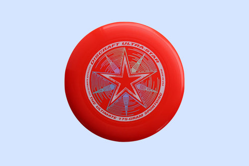Discraft Ultra-Star Sportdisc Bright-red