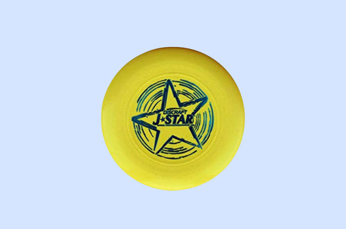 J*Star 145 gram Junior Disc Yellow