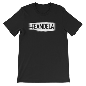 TEAMDELA™ BLACK TEE