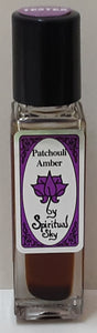 Patchouli Amber Spiritual Sky  Perfumed Oil 8.5ml