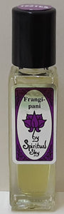 Frangipani Spiritual Sky  Perfumed Oil 8.5ml
