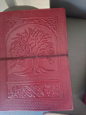Leather Journal - Tree of Life