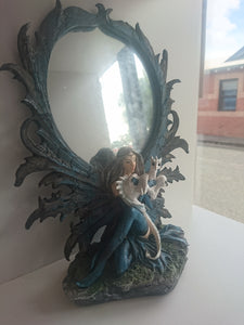 Dragon with Fairy Mirror
