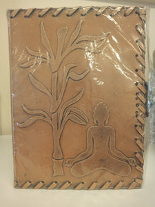 Leather Journal - Buddha under Tree