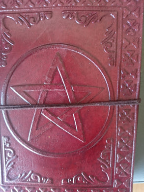 Leather Journal - Pentagram Leather