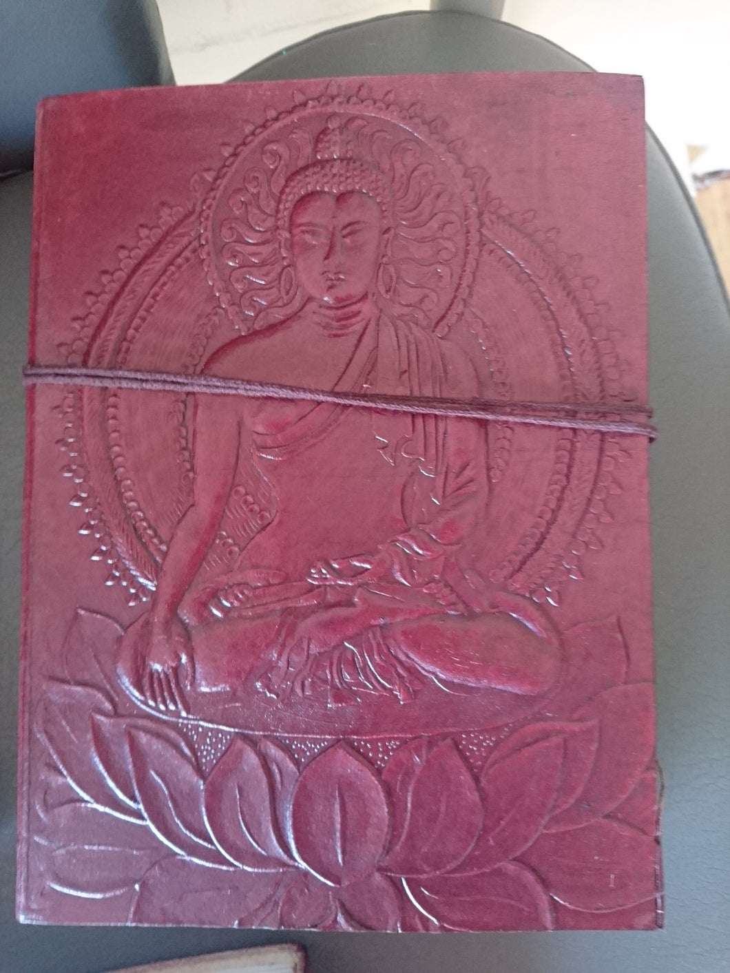 Leather Journal - Buddha