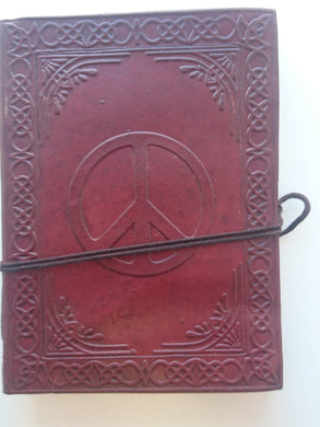 Leather Journal - Peace