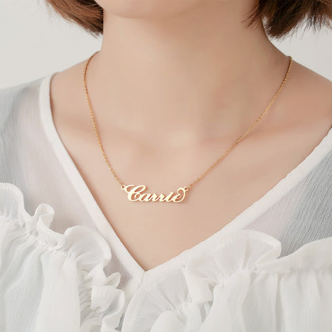 Custom Personalized Name Necklace
