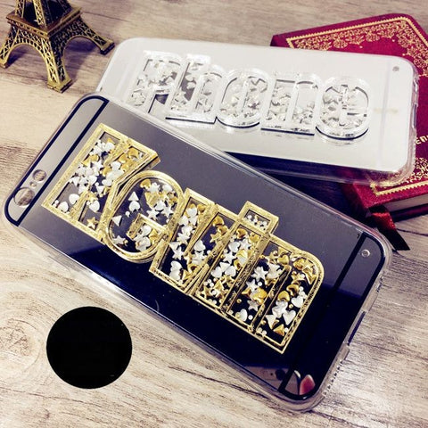 Luxury 3D Custom Name Phone Case COVER For iPhones