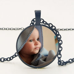 Custom Necklace Photo Of Child, Mom, Dad, Grandparent, Or Love One's
