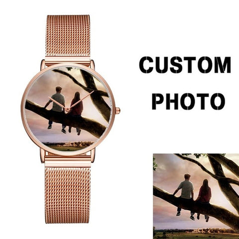 CL033 Custom Name/Photo Women's Watch