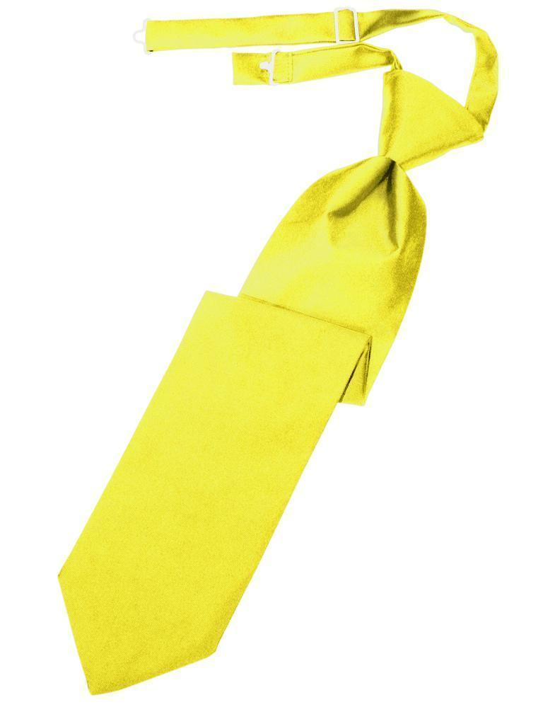 Corbata Luxury Satin Lemon Caballero